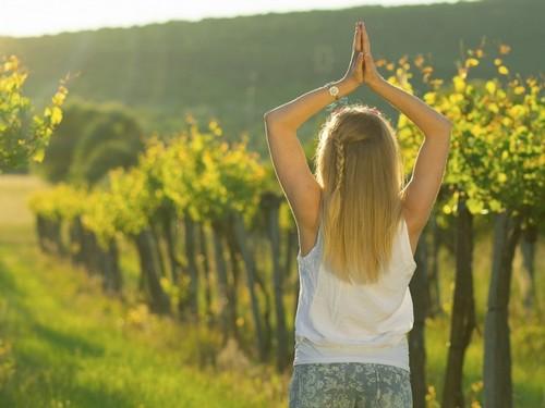yoga in vigna